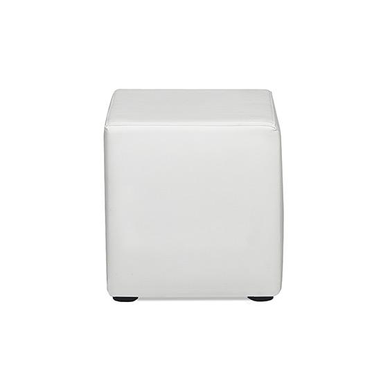 Blanc Cube Ottoman