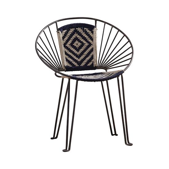 Zilker Café Chair - Black